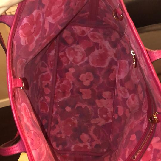 Louis Vuitton Tote in brown and pink Image 8