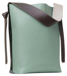 Céline Tote in Jade Dark Forest