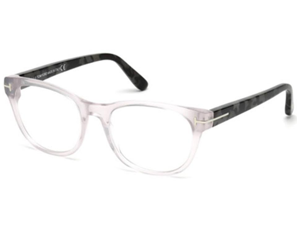 Tom Ford Grey Clear New 5433 Square Frames Sunglasses - Tradesy