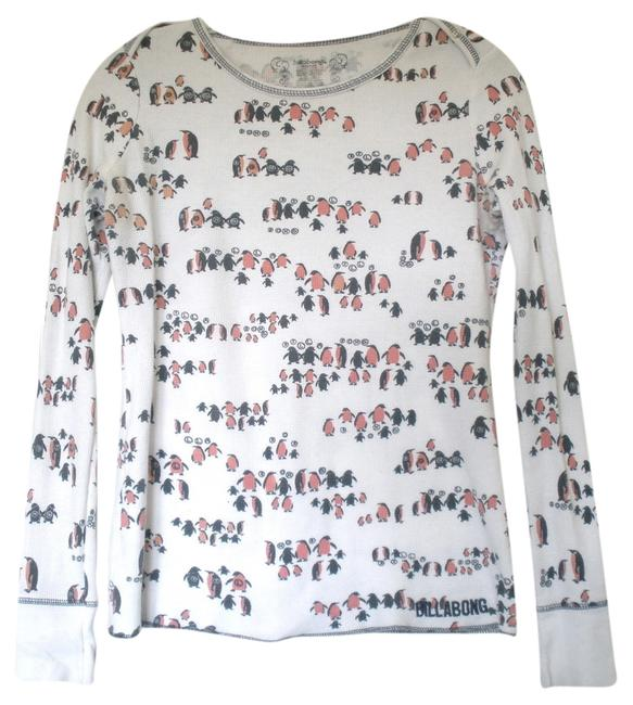 Billabong Thermal Penguins T Shirt White