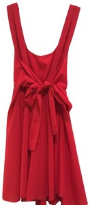 Double Zero Bows Feminine Summer Low Back New With Tags Dress