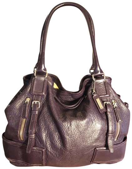 Preload https://img-static.tradesy.com/item/23311734/cole-haan-xl-deep-eggplant-purple-heavy-pebbled-leather-shoulder-bag-0-1-540-540.jpg