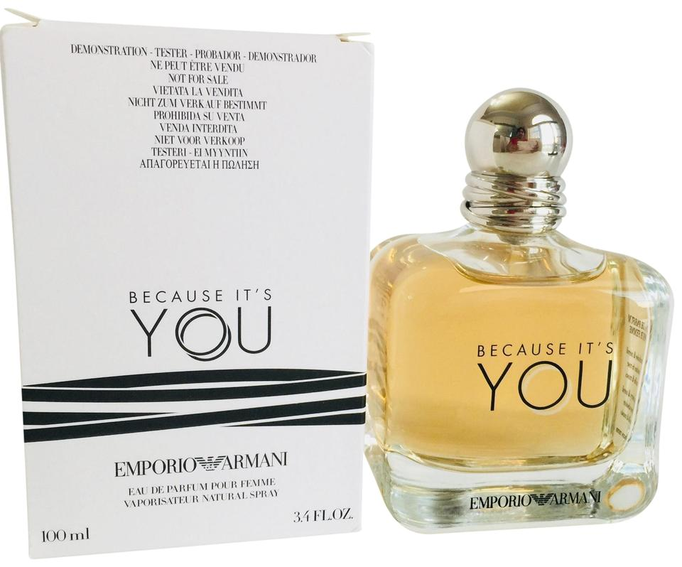 Giorgio Armani Emporio Because Its You Edp 34 Floz 100 Mlnew