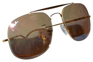 RAY BAN NEW RAY BAN General GOLD Aviator Sunglasses w Case RB3561