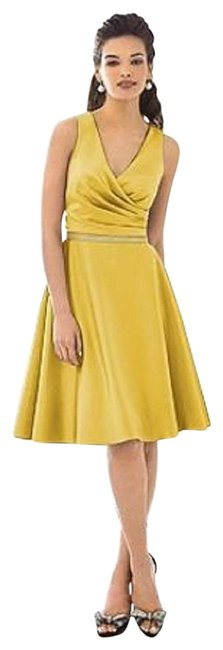 Item - Marigold 6647 Mid-length Night Out Dress Size 12 (L)