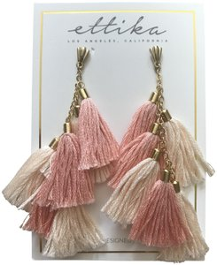 Ettika Ettika tassel earrings