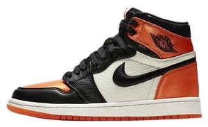 new arrival 64807 bdbbc Added to Shopping Bag. Nike Orange Athletic. Nike Orange Air Jordan 1 Retro  High Satin Shattered Backboard ...
