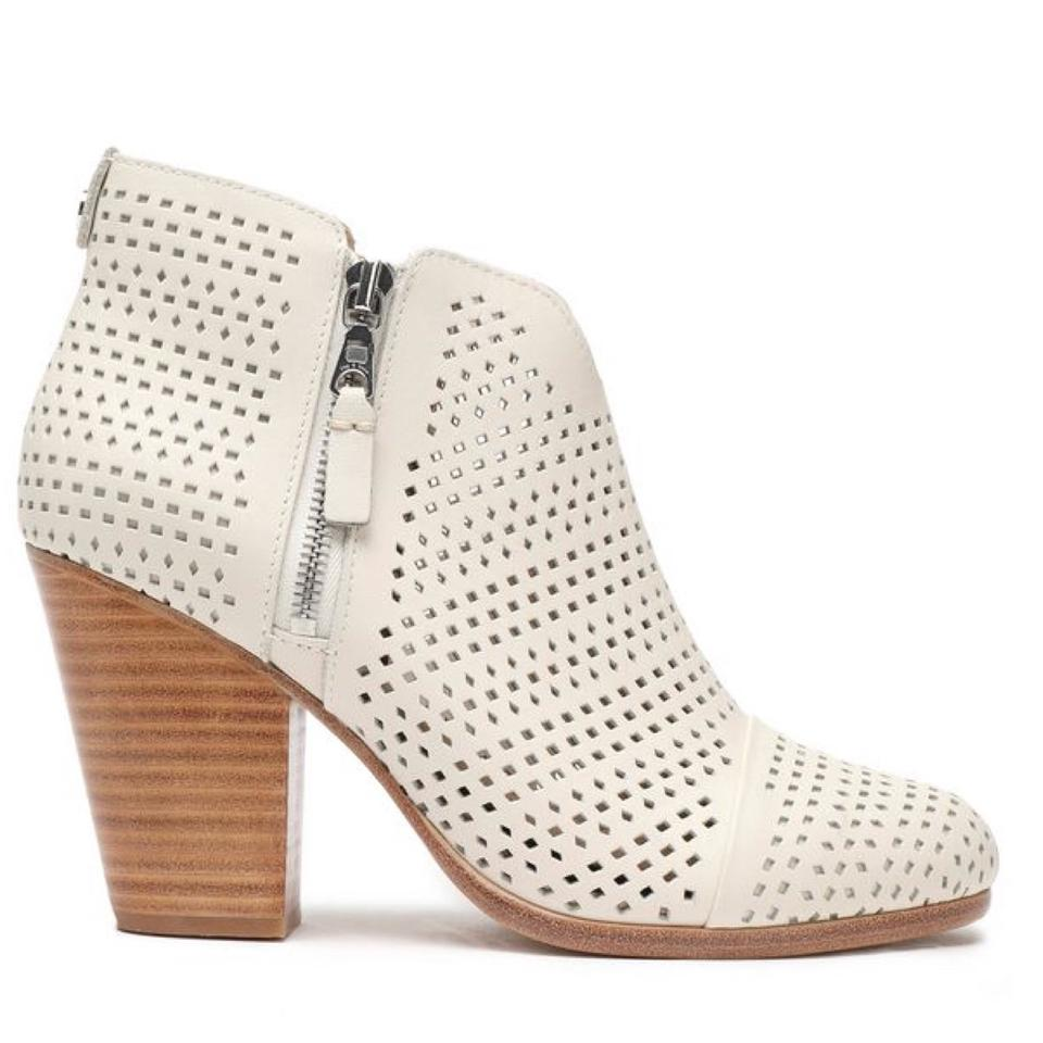 WOMEN Rag & Bone Ivory Boots/Booties Famous store store Famous acd9f4