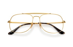 Ray-Ban NEW Ray Ban RB6389 Square Aviator Gold Eyeglasses Frames