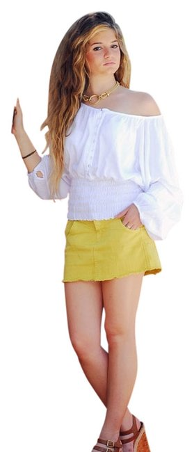 Lirome Cozy Ibicenco Summer Resort Boho Top White