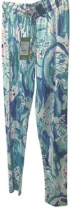 Lilly Pulitzer Relaxed Pants Aquatic Garden