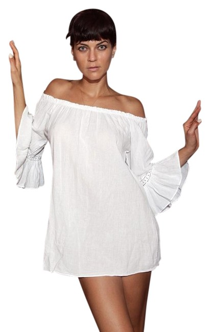 Lirome Resort Cottage Chic Off Shoulders Tunic Image 3