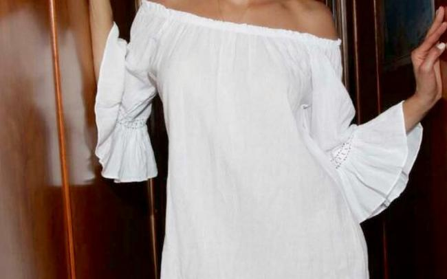 Lirome Resort Cottage Chic Off Shoulders Tunic Image 7