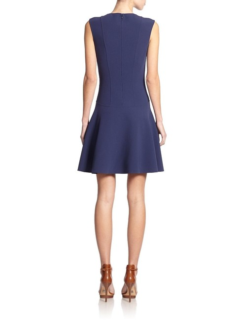 Michael Kors Collection short dress blue Stretch Wool Fit And Flare Mini on Tradesy Image 2
