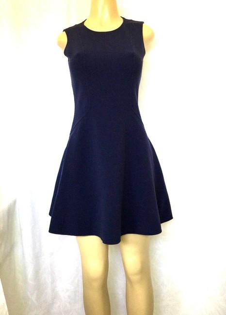 Michael Kors Collection short dress blue Stretch Wool Fit And Flare Mini on Tradesy Image 3