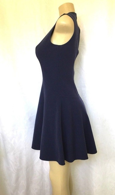 Michael Kors Collection short dress blue Stretch Wool Fit And Flare Mini on Tradesy Image 4