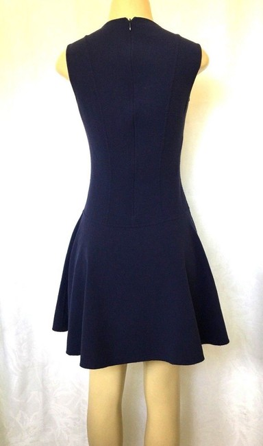 Michael Kors Collection short dress blue Stretch Wool Fit And Flare Mini on Tradesy Image 5