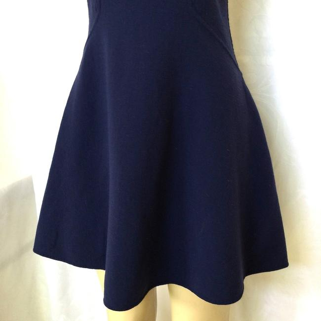 Michael Kors Collection short dress blue Stretch Wool Fit And Flare Mini on Tradesy Image 6