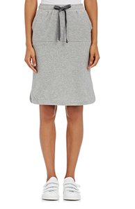 Skin Drawstring Jersey Sets Set Drawstring Skirt grey
