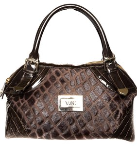 Versace Jeans Collection Satchel in Brown