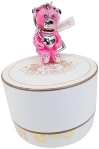 Juicy Couture Juicy Couture Teddy Bear Keychain Fob