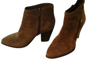 Very Volatile Casual Leather Suede Ankle Brown Boots