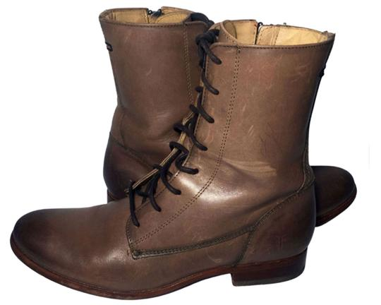 Frye Brown 76081 Melissa Lace Up