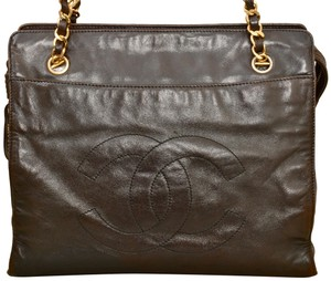 Chanel Tote Lambskin Shoulder Bag