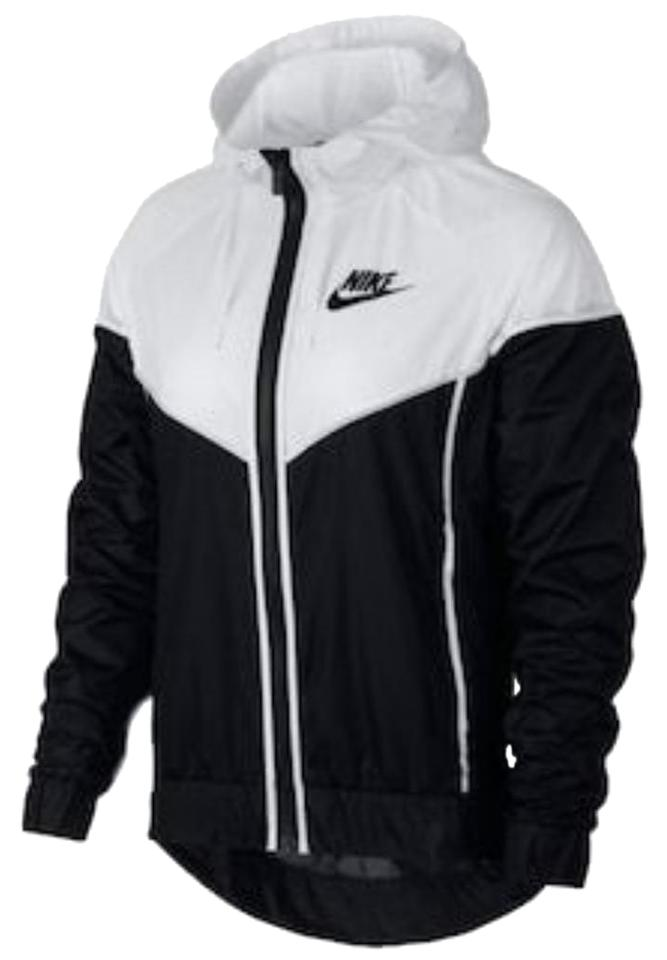 d7d5bad6372 Nike Black/White   Women's Windrunner Hooded X-large   Black/White    Activewear Outerwear Size 16 (XL, Plus 0x) 10% off retail