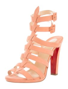 Christian Louboutin Strappy Summer Gladiator New With Tags Melon Sandals