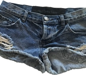 OneTeaspoon Cut Off Shorts blue