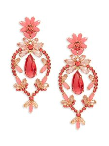Kate Spade Kate Spade New York Flora Faceted Statement Earrings