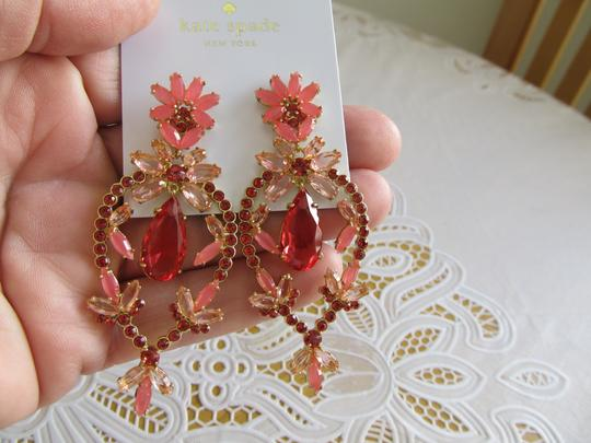 Kate Spade Kate Spade New York Flora Faceted Statement Earrings Image 2