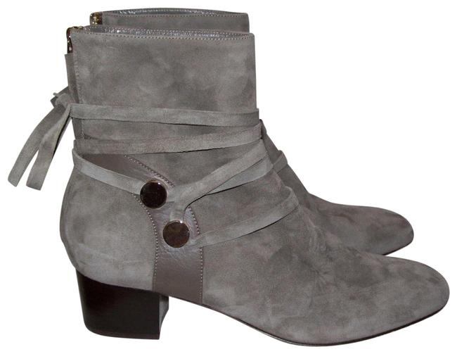 """Item - Houston Gray Suede """"Houston"""" Ankle Boot/Bootie/Shoes Sz.39 Boots/Booties Size EU 39 (Approx. US 9) Regular (M, B)"""
