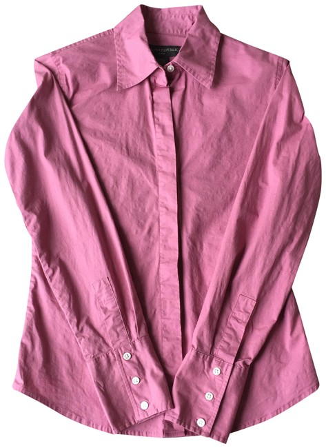 Item - Dusty Rose Pink XS Dress Shirt Button-down Top Size 0 (XS)