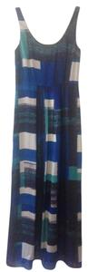 Blue and Aqua Maxi Dress by Ann Taylor Maxi