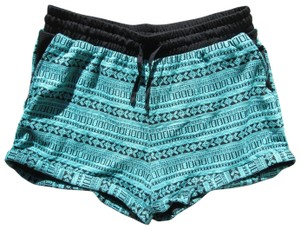 Maurices Aztec Tribal Printed Spring Summer Cuffed Shorts Multicolored