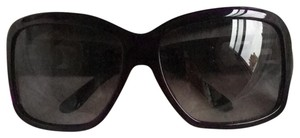 BVLGARI Bulgari purple oversized women's sunglasses