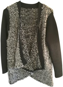 Club Monaco Elegant Office Wear Wrap Wool Cardigan