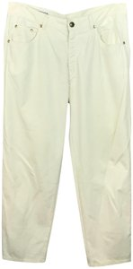 Escada Straight Pants Creme