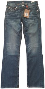 True Religion Mens Straight Leg Jeans-Medium Wash
