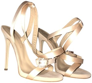 Giuseppe for Jennifer Lopez Silky Heels Heels By Jlo New Condition Nude Pumps