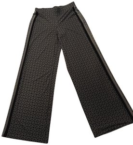 White House | Black Market Relaxed Pants Black and White