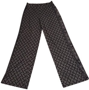 White House | Black Market Relaxed Pants Navy Blue and White