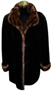 Tally Ho Faux Fur Coat