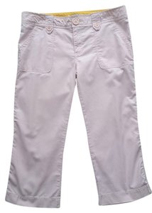 Hollister Cropped Capris Pink