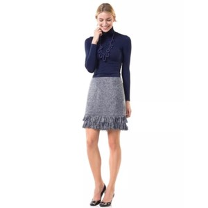 Sail to Sable Skirt Navy and White