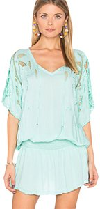 Tiare Hawaii short dress Teal on Tradesy