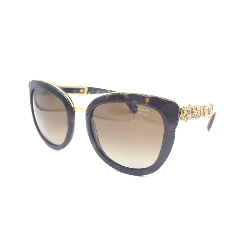 d2a5e35290975 Chanel Butterfly Gradient Brown Polarized 5356 c.714 S9 Sunglasses Image 0  ...