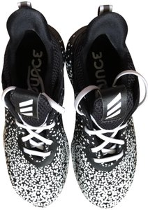0196da063 adidas Alphabounce Pattern Black And White New REDUCED-- PRICE WAS  199.00--NEW
